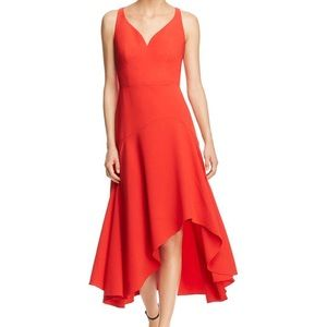 🌸New Elie Tahari Susie sweetheart midi dress